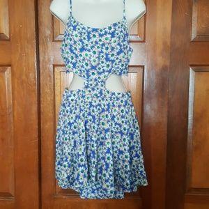 Summer floral dress size large